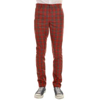 pantaloni uomo 3RDAND56th - 60'S MOD TARTAN SLIM FIT TRS, 3RDAND56th