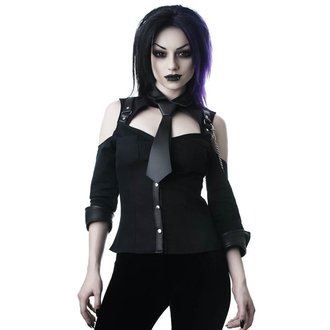 camicia KILLSTAR - Kalista Teachers Pet - NERO, KILLSTAR
