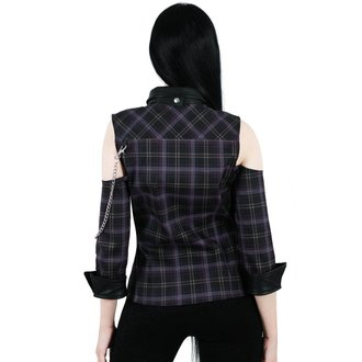 camicia KILLSTAR - Kalista Teachers Pet - TARTAN, KILLSTAR