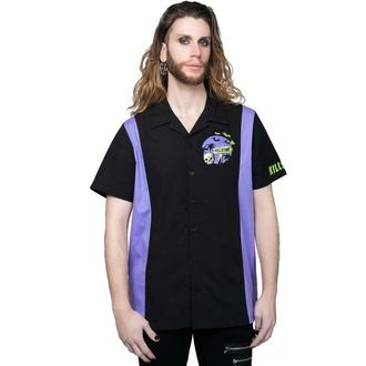 Camicia da uomo KILLSTAR - Kon-Tiki - Nero, KILLSTAR