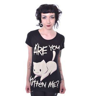 t-shirt donna - KITTEN ME - CUPCAKE CULT, CUPCAKE CULT