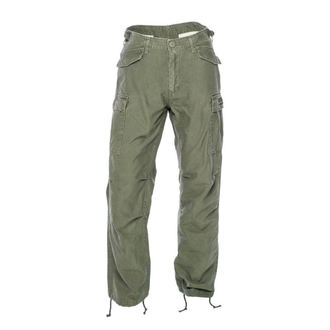 pantaloni WEST COAST CHOPPERS - M-65 CARGO - Esercito verde, West Coast Choppers