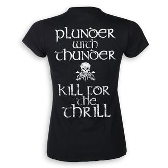 t-shirt metal donna Alestorm - Plunder with Thunder - ART WORX, ART WORX, Alestorm