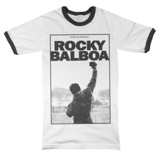 t-shirt film uomo Rocky - It Ain´t Over Ringer - HYBRIS, HYBRIS, Rocky