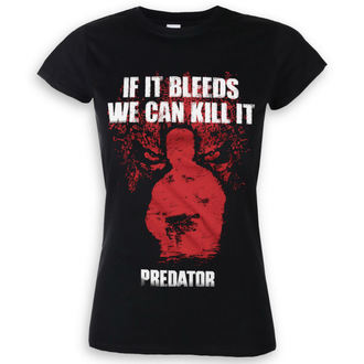 t-shirt film donna Predator - If It Bleeds - HYBRIS, HYBRIS, Predator