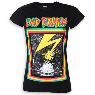 t-shirt metal donna Bad Brains - PLASTIC HEAD - PLASTIC HEAD, PLASTIC HEAD, Bad Brains