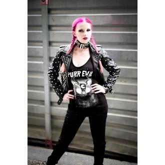 giacca di pelle donna - Vicious - KILLSTAR, KILLSTAR