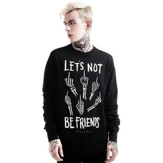 felpa (unisex) KILLSTAR - Let's Not - Nero, KILLSTAR