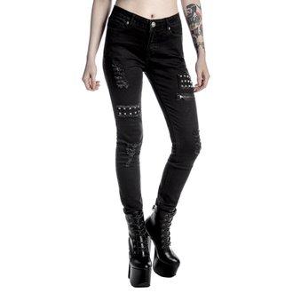 pantaloni donne KILLSTAR - Lithium - Nero, KILLSTAR