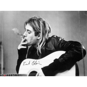 poster - Nirvana - CorteKurt Cobain - Smoking - GB posters, GB posters, Nirvana