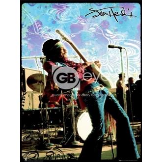 poster - JIMI HENDRIX vivere - LP1270, GB posters, Jimi Hendrix