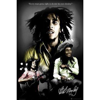 poster - BOB MARLEY destino - LP1328, GB posters, Bob Marley
