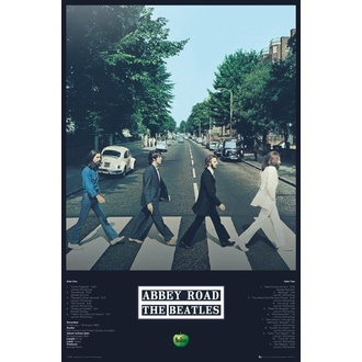 Poster BEATLES - ABBEY ROAD TRACKS - GB posters, GB posters, Beatles