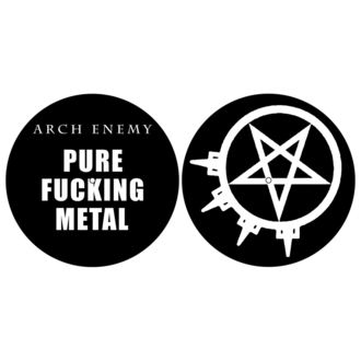 Tappetini per grammofono (set 2pcs) ARCH ENEMY - PURE FUCKING METAL - RAZAMATAZ, RAZAMATAZ, Arch Enemy