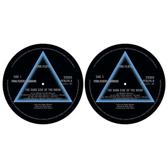 Tappetini per grammofono (set 2pcs) PINK FLOYD - DARK SIDE OF THE MOON - RAZAMATAZ, RAZAMATAZ, Pink Floyd