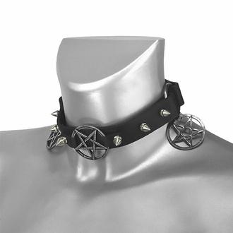 Collare / Decorazione per scarpe con pendente, Leather & Steel Fashion