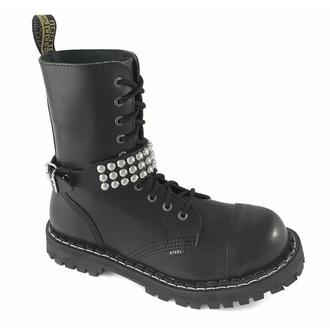 Collare / Decorazione per scarpe con borchie (3 file) - LSF3 15