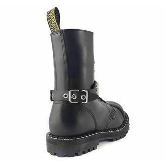 Collare / Decorazione per scarpe con borchie (3 file), Leather & Steel Fashion