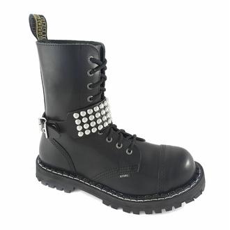 Collare / Decorazione per scarpe con borchie (4 file) - LSF3 16