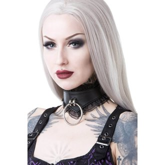 collana girocollo KILLSTAR - LUCY LACE CHOKER - NERO, KILLSTAR