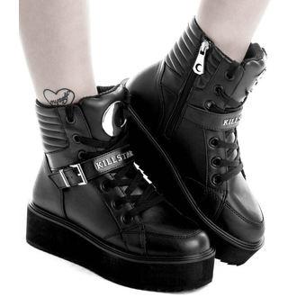 scarpe con cuneo unisex - LUNA HIGH TOPS - KILLSTAR, KILLSTAR