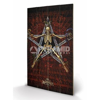 in legno immagine Alchemy (Alchantagram) - Pyramid Posters, ALCHEMY GOTHIC