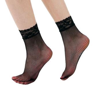 calzini (calze autoreggenti) PAMELA MANN - Lace Trim - Nero, PAMELA MANN