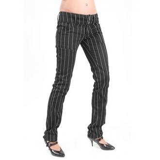 pantaloni donna Mode Wichtig - Pretty Low-Cut Pin Stripe, MODE WICHTIG