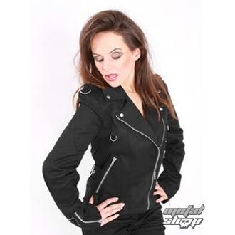 giacca donna Mode Wichtig - Biker Jacket Denim, MODE WICHTIG
