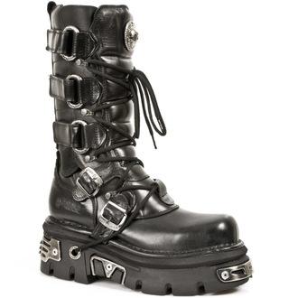 stivali in pelle - Girdle Boots (474-S1) Black - NEW ROCK, NEW ROCK