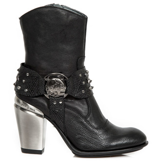 scarpe con il tacco donna - BUFALO WILD NEGRO - NEW ROCK, NEW ROCK