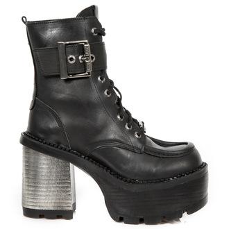 scarpe con il tacco donna - CRUST NEGRO, SEVENTY NEGRO - NEW ROCK, NEW ROCK