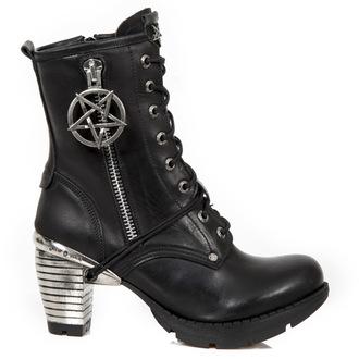 scarpe con il tacco donna - ITALI NEGRO, TRAIL NEGRO TACON ACERO-2 - NEW ROCK, NEW ROCK