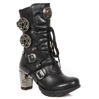 scarpe con il tacco donna - ITALI NEGRO, NOMADA NEGRO - NEW ROCK, NEW ROCK