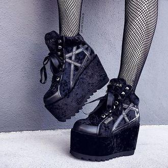 scarpe con cuneo donna - KILLSTAR