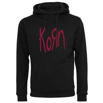 felpa con capuccio uomo Korn - Logo - NNM, NNM, Korn