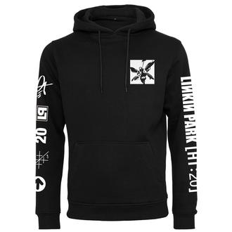Felpa con cappuccio unisex Linkin Park - Anniversary Logo - nero, NNM, Linkin Park