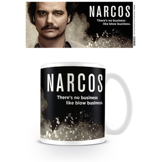 tazza Narcos - There's no business like blow business - PYRAMID POSTERS, PYRAMID POSTERS