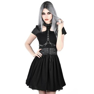 vestito KILLSTAR - MIDNIGHT MUSE HARNESS - NERO, KILLSTAR