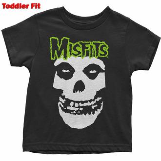 Maglietta per bambini Misfits - Skull & Logo - ROCK OFF, ROCK OFF, Misfits