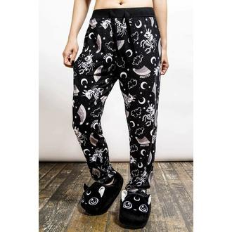 Pantaloni da donna (pigiama) KILLSTAR - Moonbow Lounge - Nero, KILLSTAR