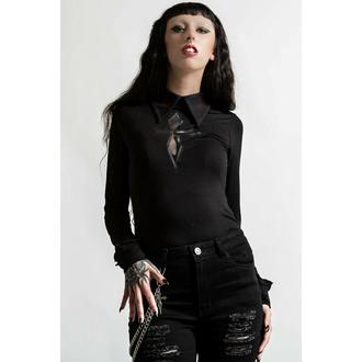 Maglietta da donna a maniche lunghe KILLSTAR - Morissa - Nero, KILLSTAR
