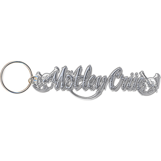 portachiave ad anello - pendente Mötley Crue (Cranio Logo) - ROCK OFF, ROCK OFF, Mötley Crüe