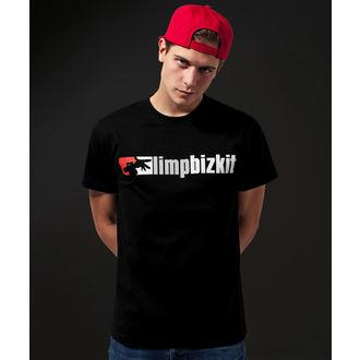 t-shirt metal uomo Limp Bizkit - Logo - URBAN CLASSICS, URBAN CLASSICS, Limp Bizkit