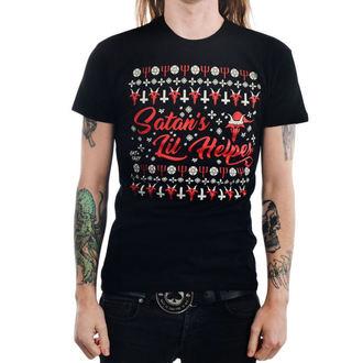T-shirt gotica e punk uomo - SATAN'S LIL HELPER EVIL - TOO FAST, TOO FAST