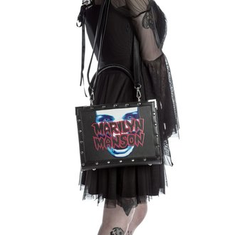 borsa  (borsa) KILLSTAR - MARILYN MANSON - Mio Metallo - Nero, KILLSTAR, Marilyn Manson