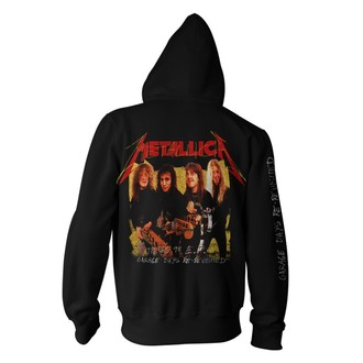felpa con capuccio uomo Metallica - Garage Photo - - RTMTLZHBGAR