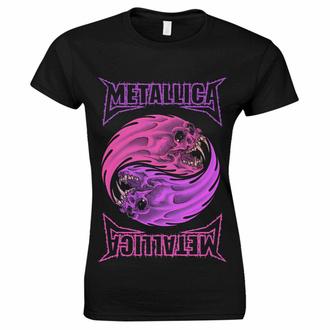 Maglietta da donna Metallica - Yin Yang Viola - Nero, NNM, Metallica