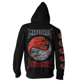 Felpa con cappuccio da uomo Metallica - Yin Yang - Nero, NNM, Metallica