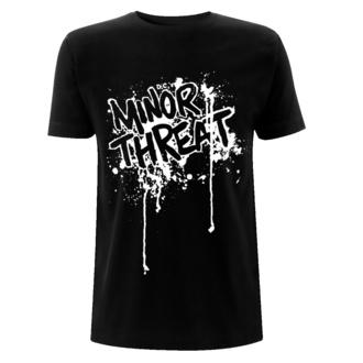 Maglietta da uomo Minor Threat - Drips - Nero, NNM, Minor Threat